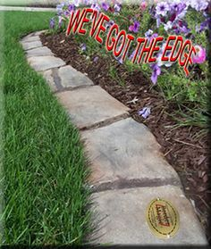 landscaping border ideas to entry concrete paver landscape