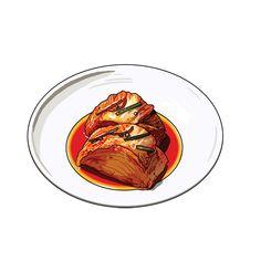 푸드 컨텐츠 일러스트 (Food illustration) on Behance