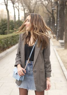 The Effective Pictures We Offer You About Blazer Outfit 2019 A quality picture can tell you many things. You can find the most beautiful pictures that can be presented to you about Blazer Outfit for m Blazer Outfits Casual, Trendy Fall Outfits, Cute Outfits, Classy Outfits, Work Outfits, Dress Outfits, Summer Outfits, Women Blazer Outfit, Stylish Outfits