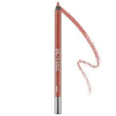 What it is:This Lip Pencil glides on smoothly, stays creamy, and keeps lipstick, gloss, and stains from feathering out of bounds. What it does:Just like Urban Decay's 24/7 Glide-On Eye Pencils, their Lip Pencils are guaranteed to last. They also cont
