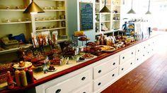 Bakery inspired kitchen