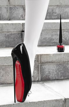 Christian Louboutin debuts his Rouge Louboutin Nail Colour with the help of auteur director David Lynch. Take a peek at their glamorous, surrealist vision.