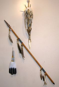 Sconces made from skulls/feathers?   Spear, Territorial Marker and Fan