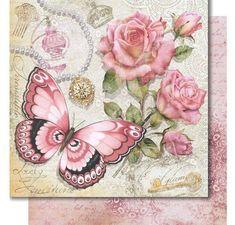 mariposas-decoupage-13 Decoupage Vintage, Vintage Paper, Vintage Art, Vintage Postcards, Vintage Images, Creative Flower Arrangements, Foto Transfer, Butterfly Wallpaper, Cross Paintings