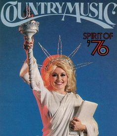 For your Halloween consideration: When all else fails, you can always go as Dolly going as Lady Liberty.