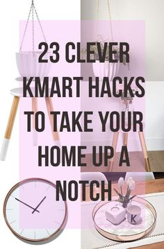 23 DIY Clever Kmart Hacks That'll Take Your Decor To The Next Level #diy #hacks #lifehacks