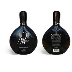 Noir #rum #packaging #ron