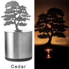 Creative Nest Shadow Projection LED Lamp Romantic Atmosphere Candle Decor Light (SILVER,NEST) | Sammydress.com Mobile