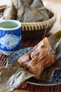 Traditional Zongzi Rice Dumplings (Bak Chang 肉粽)