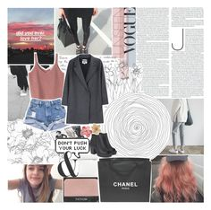 """""""ALL SHE HAD WAS THE CITY"""" by f-4bulous ❤ liked on Polyvore featuring Chanel, MM6 Maison Margiela, Boohoo, women's clothing, women's fashion, women, female, woman, misses and juniors"""
