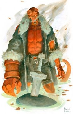 """SDCC: Paolo Rivera Talks Joining Mignola, Roberson on """"Hellboy & The B.P.R.D."""""""