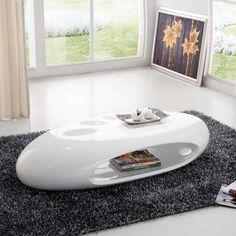 Table basse Design Atylia, achat Table basse design Ozia blanche ATYLIA prix promo Atylia 399,00 € TTC.