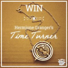 #Win Hermione's Time Turner. ENTER TO WIN HERE【 wp.me/p3V93o-lt 】via @HeyCharchar #HarryPotter #HP #competition #giveaway