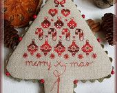 Merry X-mas - Cross stitch semi kit