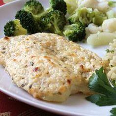Pescado blanco a la parmesana @ allrecipes.com.mx