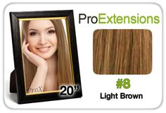 "Pro Fusion 20"", #8 Light Brown"