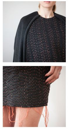 Julia Björkeheim AW13, if made with the same yarn as the fabric it can be recycable or biodegradable