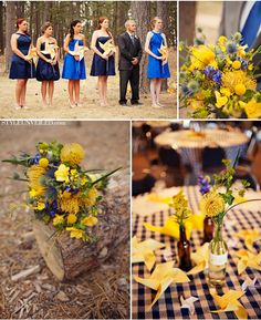 There's an idea! Huge pinwheels in place of flower bouquets! By Rule42 on Etsy.