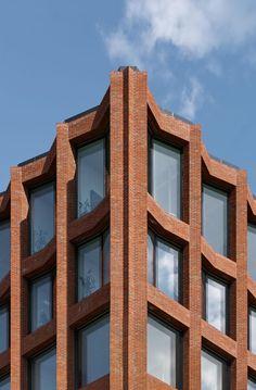 Max Dudler Architekt, Stefan Müller · Drägerwerk House 72. Lubeck, Germay #modernarchitecturebrick