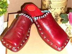 NEW Auth CYD Cydney Mandel Anthro Navajo Leather Clogs Mules Slides Shoes 6 | $55 on eBay