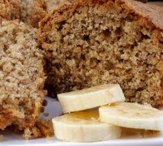 Receita de Bolo de Banana Diet Zero Açúcar para Dietas