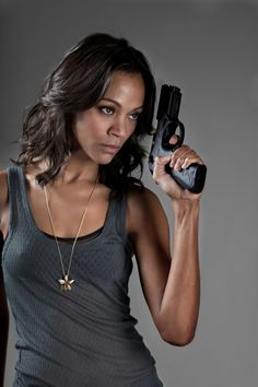 Zoe Saldana in Columbiana