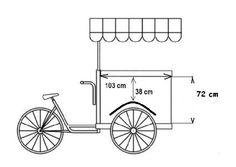 Food Cart Design, Food Truck Design, Coffee Carts, Coffee Shop, Food Cart Business, Mobile Fashion Truck, Bicycle Cart, Mobile Food Cart, Bike Food