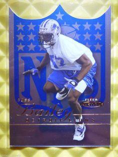 2003 Fleer Mystique BOSS BAILEY Die Cut Blue Rookie Card RC #130 /350 Georgia  #DetroitLions