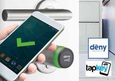 DENY TAPKEY l'ouverture des portes contrôlée par votre smartphone en mode haute sécurité.