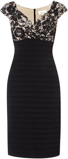Lace Shutter Dress - Lyst