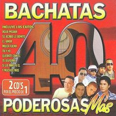 Various - 40 Bachatas Poderosas Mas