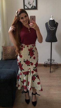 nov 8 2019 this pin Cute Skirt Outfits, Dress Outfits, Casual Dresses, Fashion Dresses, Mom Dress, Dress Skirt, Vestido Dress, Vestidos Chiffon, Trend Fashion