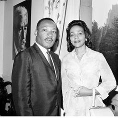 Martin Luther King Jr and Coretta Scott King photo by Associated Press Coretta Scott King, Martin Luther King, Eyebrows, Serum, Presidente Obama, Georgia, Dr Martins, Civil Rights Leaders, Black Celebrities