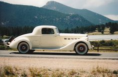 """Mom's 1935 Super 8 Packard  """"the other Blonde Bombshell""""!"""