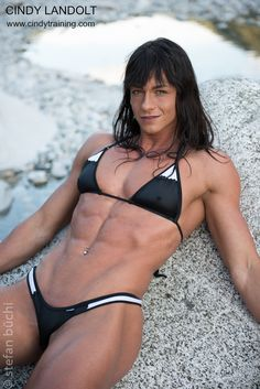 Cindy Landolt, fitness model & personal trainer, pictures & videos | Cindy Training