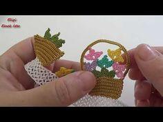 Bugün #YENİ #Tığİşi #Sepetli #HavluKenari Modeli | Tüm #Yapım Aşamalarının yapılışını tam #anlatımlı gösterdim. Creative Embroidery, Hand Embroidery, Filet Crochet, Crochet Lace, Knitted Shawls, Knitted Poncho, Knit Shoes, Needle Lace, Knitting Socks
