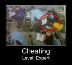 cheating is many levels, this is final level ( expert ). please like if it OK. please like and share it to your timeline & friends: http://pinterest.com/travelfoxcom/pins/