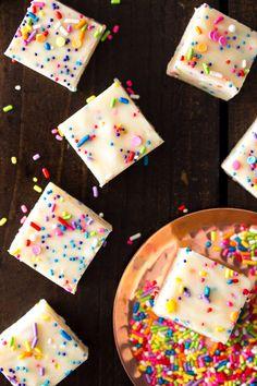 10 min. Cake Batter Fudge