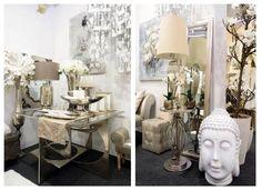 ambientes en tonos champán en www.virginia-esber.es