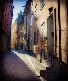 Old city - Stockholm, Sweden