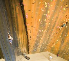 Utah's Largest Indoor Rock Climbing Cracks - Momentum Climbing