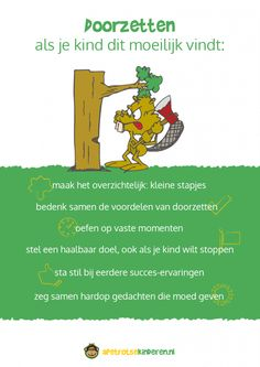 Zo leert je kind om door te zetten Coaching, Social Work, Social Skills, Teaching Kids, Kids Learning, Leader In Me, School Hacks, Growth Mindset, Happy Kids