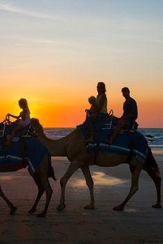 Sunset camel ride on Cable Beach, Broome, Western Australia On my list. Best Beaches To Visit, Places To Visit, Western Australia, Australia Travel, Oh The Places You'll Go, Places To Travel, Travel Destinations, Australian Beach, Plein Air