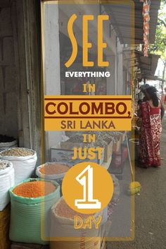 See everything in Colombo, Sri Lanka in just 1 day. via @misstouristcom