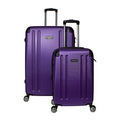 Luggage Sets Collections | Heritage OHare Hardside 2Piece Lightweight Expandable Spinner Luggage Set Purple * Click image to review more details. Note:It is Affiliate Link to Amazon. #lifestylestore
