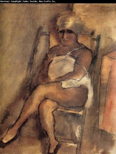 Jules Pascin  kerchiefed Lady    Google Image Result for http://www.chinafineart.com/upload1/file-admin/images/new19/Jules%2520Pascin-855494.jpg