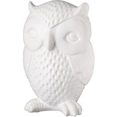 Got this owl piggy bank for my daughter's nursery! Love it!
