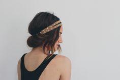 Hair Tutorial // Headband Tuck — Treasures & Travels