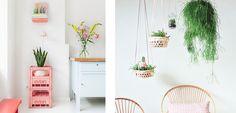 6 ideas para darle un toque rosa a tu hogar - http://www.decoora.com/5-ideas-darle-toque-rosa-hogar/