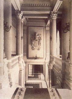 Palacio de Portugalete en la calle de Alcalá. Escalera principal del palacio. Foto: Juanjo para Urbanity